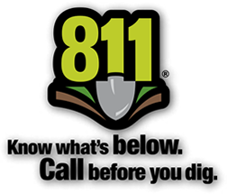 811 Call Before You Dig Logo